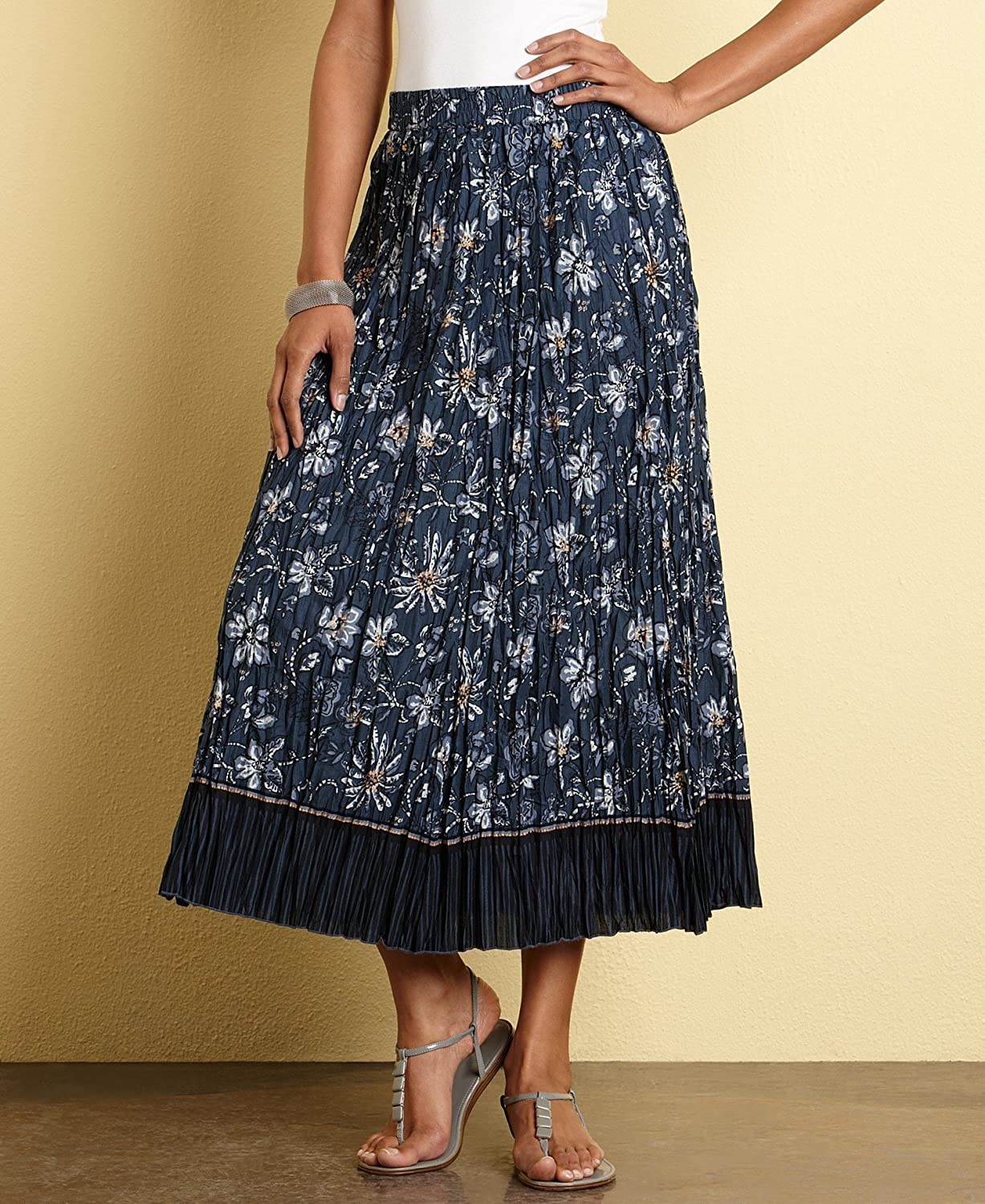 Charter Club Women Cotton Long Skirt, 12