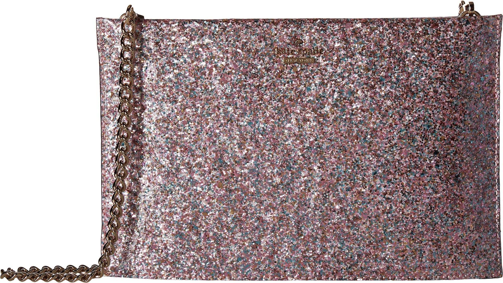 Kate Spade New York Women's Wedding Belles Glitterbug Sima Pastel Multi Handbag by Kate Spade New York