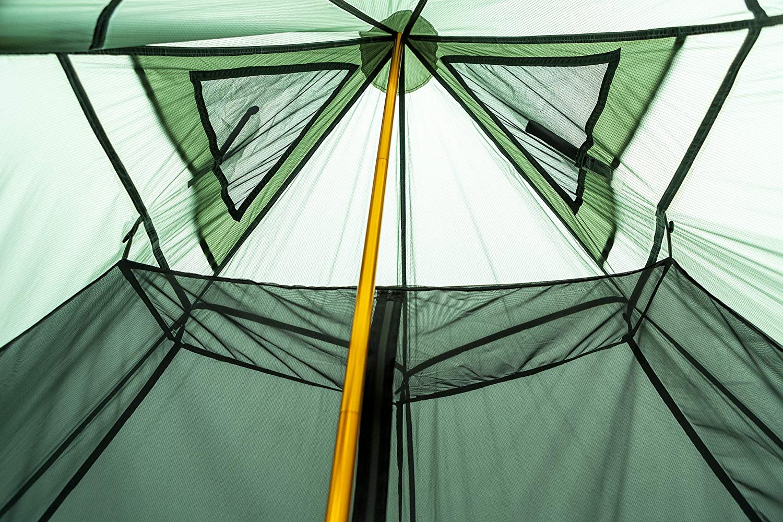 Black Orca Chimney Tipi Zelt mit Herd Loch,Smokey Hut Zelt f/ür Trekking Camping Outdoor Doppeltes Shelter Wasserdicht OneTigris MEHRWEG Verpackung