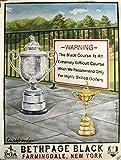 2019 Pga championship golf Poster bethpage black