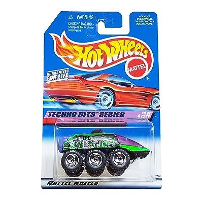Hot Wheels Radar Ranger 1998 Techno Bits Series #692 on Red Card: Toys & Games