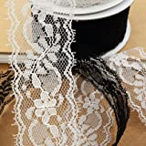 Delicate White Lace Ribbon, 1.5 inch (35mm) X 20