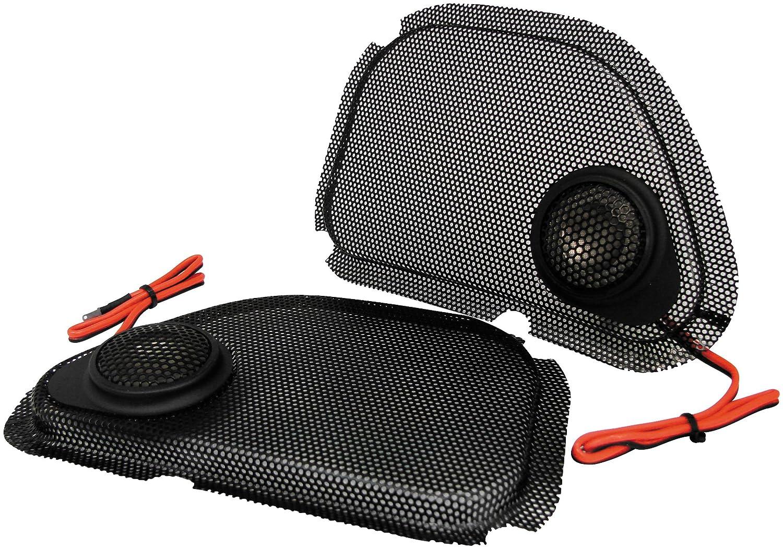 Amazon.com: Hawg Wired Steel Mesh Speaker Grills with Tweeter Kit ...