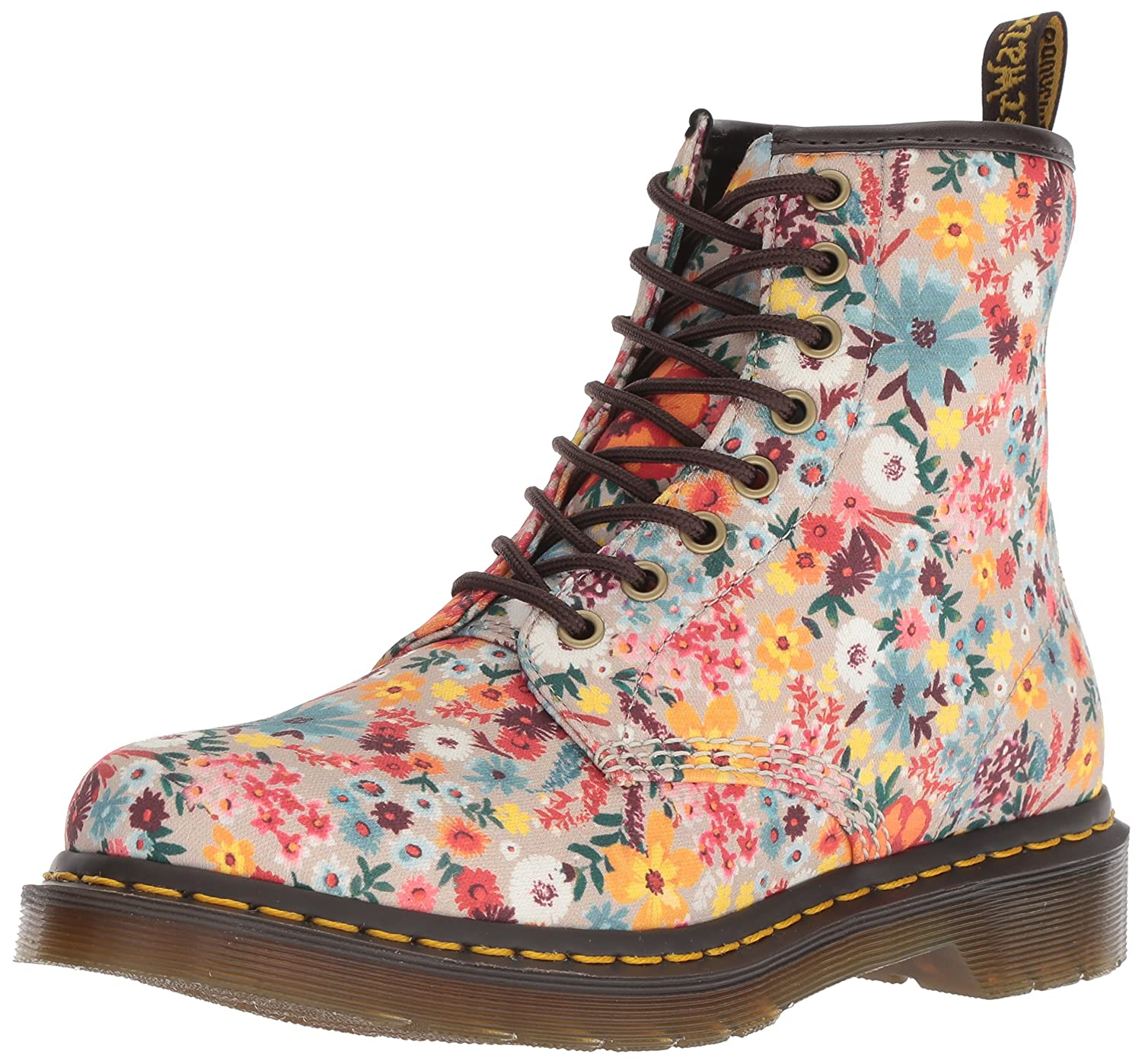 Dr. Martens Women's 1460 Pascal Wl Mid Calf Boot B078ZJZMSQ 5 M UK (7 US)|Taupe