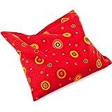 Grünspecht - Cuscino riscaldabile con noccioli di ciliegia, colore: Rosso