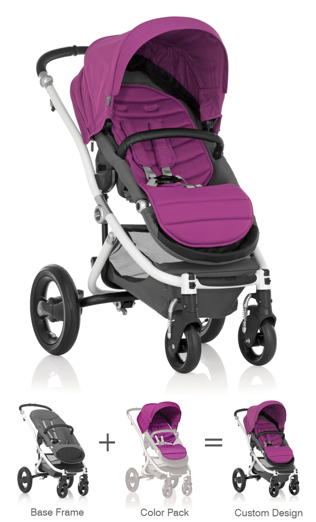 Amazon.com: Britax Affinity Color Pack, Cool Berry: Baby