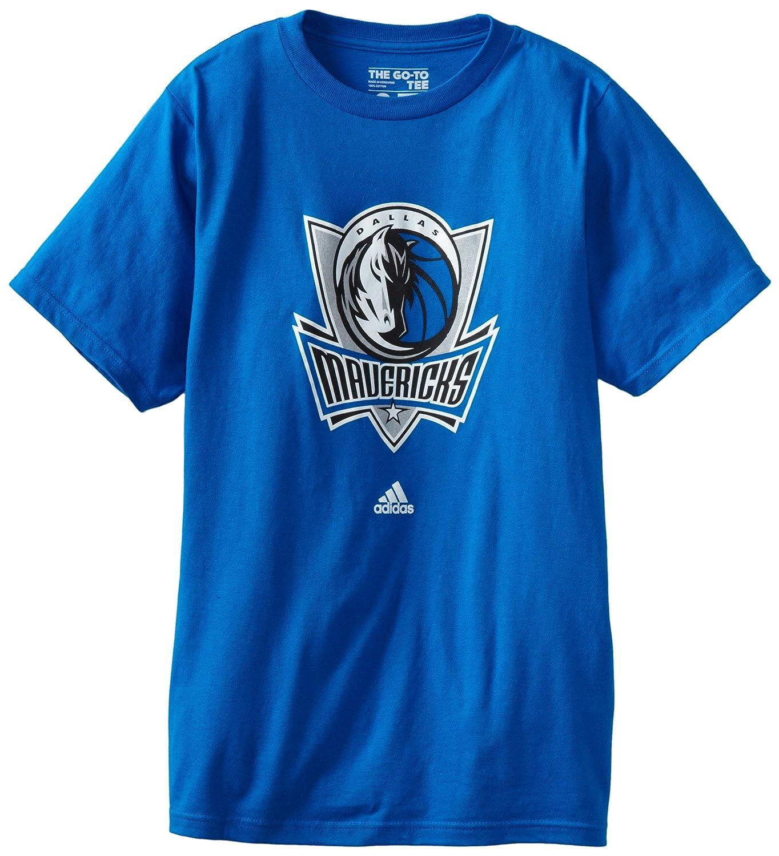 adidas NBA Dallas Mavericks Primary Logo T-Shirt 3720A161DMA7RGC