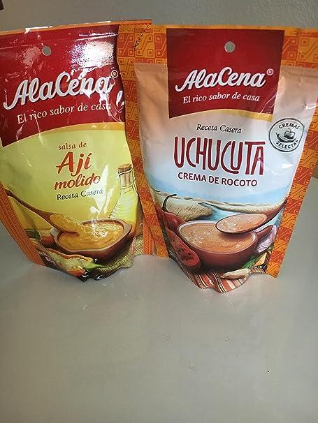 Salsa de Ají Alacena - Pack de 3 sobre de 85g (3x85g)