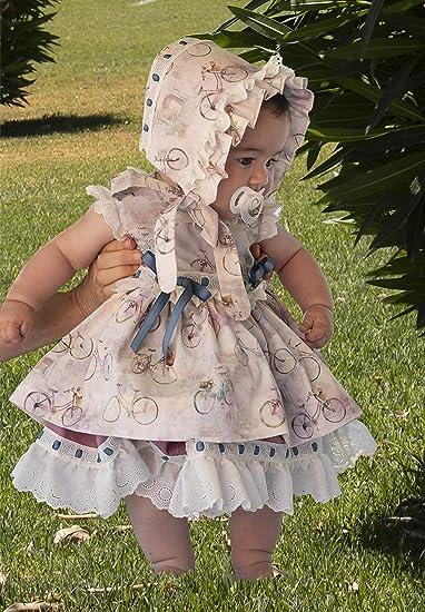 Hecho a Mano MI HIJA Y YO Vestido Cubre-Pa/ñal y Capota Mimosa para Beb/é Ni/ña Colecci/ón Susurros Excellent