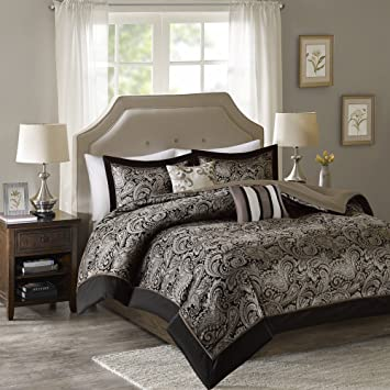 animal microfur multi ac piece dp sets com safari print brown comforter king cal pc size california set amazon tan black