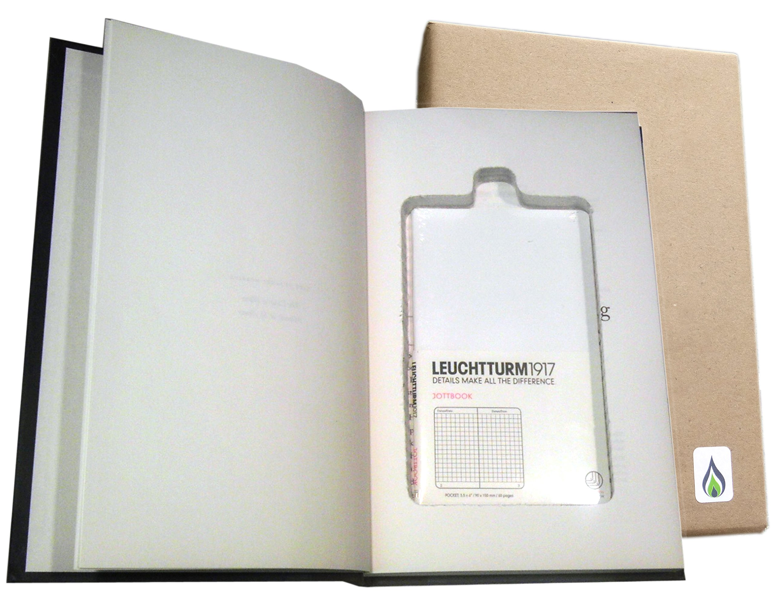 SneakyBooks Recycled Hollow Book Password Diversion Safe (blank book included) by SneakyBooks