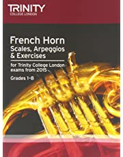 French Horn Scales Grades 1-8 from 2015