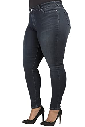 224a244354fd Poetic Justice Plus Size Tall Women Curvy Fit Vintage Stretch Denim Skinny  Jeans Size 16Plus x