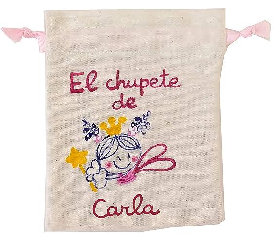 Bolsa Chupete personalizada Hada libelula: Amazon.es: Handmade