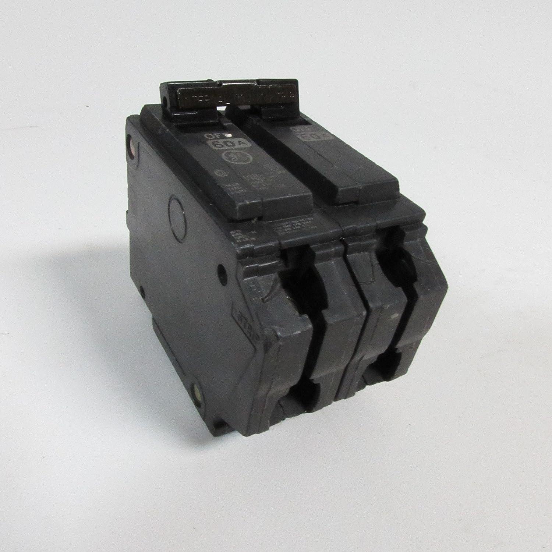 Ge Thqb2160 Bolt On Mount Type Thqb Miniature Circuit Breaker 2 Pole Partsofcircuitbreakerbmp 60 Amp 120 240 Volt Ac Breakers