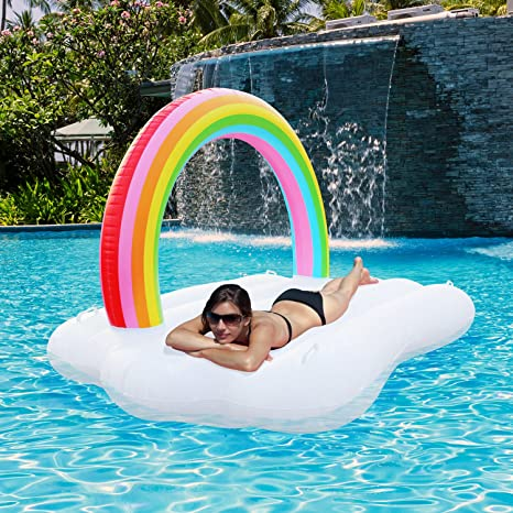 Activity & Gear Well-Educated Inflatable Floating Bed Summer Pool Party Toys Adult Swimming Leisure Toys A Variety Of Colors