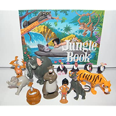 Disney The Jungle Book Set of 14 Deluxe Figure: Toys & Games