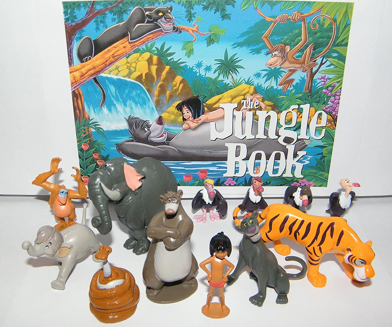 Jungle Book Prosto Toys PVC figures 7pcs set collection ...