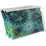 "Ice Pack for Lunch Boxes (3 Pack) by Bentology (6""x4.5"") - Paisley Design"