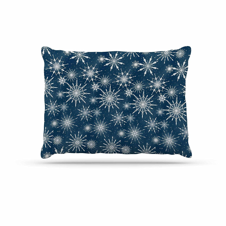 KESS InHouse Tobe Fonseca Hope Through The Storm bluee White Dog Bed, 30  x 40