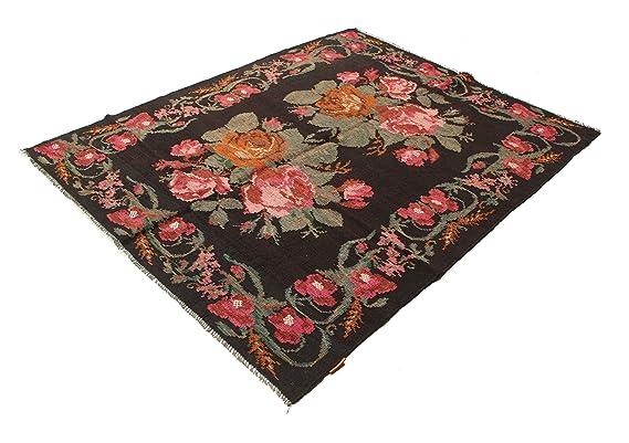 Tappeti Kilim Usati : Tappeto kilim rose moldavia tappeto orientale amazon