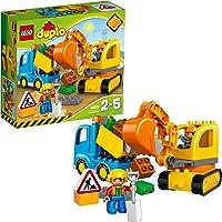 LEGO Duplo Town - Camión y Excavadora con orugas (10812)