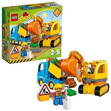 Lego Duplo 10812 Bagger Und Lastwagen Ideales Geschenk Fur 2