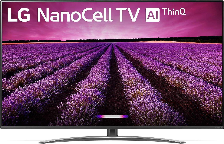 LG 65SM8100AUA Nano 8 Series 65″ 4K Ultra HD Smart LED NanoCell TV with Built-in Alexa
