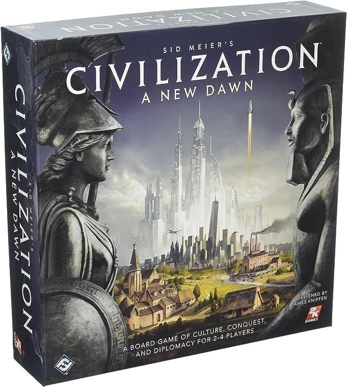 Fantasy Flight Games FFGCIV01 SID Meiers Civilization: A New Dawn ...