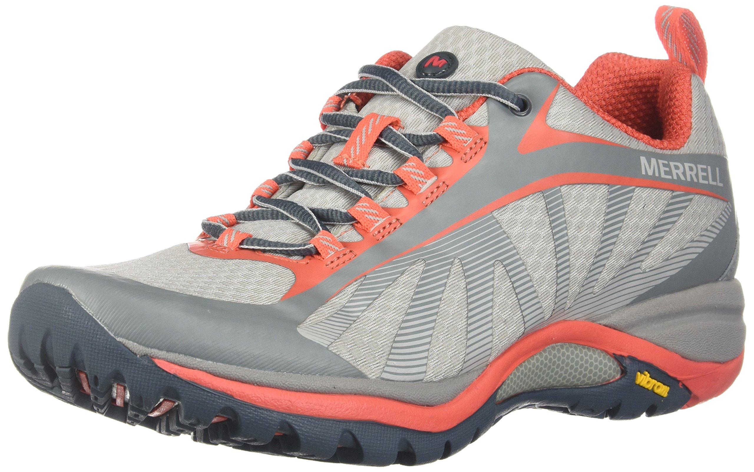 Merrell Womens Siren Edge Trail Runner, Vapor, 7 B(M) US