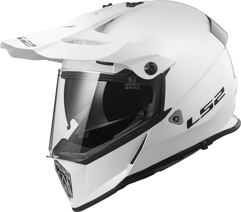 Bones, X-Large LS2 Helmets Unisex-Adult Half-Size Style Helmet with Sun Shield