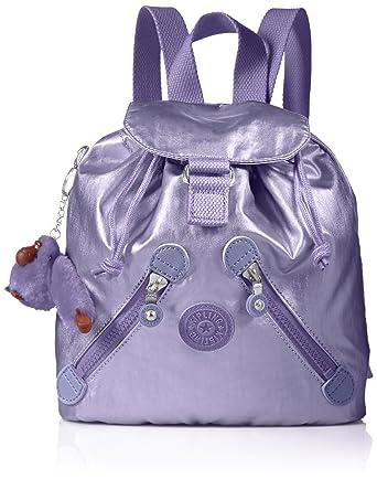 51bd9707aa2c Amazon.com  Kipling Fundamental XS Metallic Mist Purple Mini ...