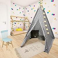 WEB2O TIPI pour Enfants H. 160cm (Gris étoilé)