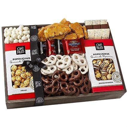 Oh! Nuts Navidad Ghirardelli Cestas de Regalo de Chocolate ...