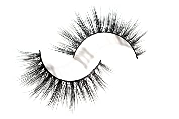2087afa7d49 Amazon.com : Long Wispy Lashes Thick Dramatic Real 3D False Mink Eyelashes  Cruelty Free Reusable For Glamorous Make Up in style Sunna : Beauty