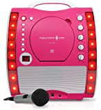 Singing Machine SML343P Impianto per Karaoke, Rosa