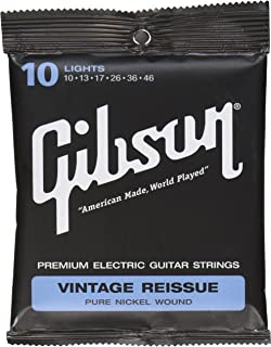 product image for Gibson Vintage Reissue Electric Guitar Strings, Light 10-46
