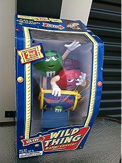 M & M Wild Thing Roller Coaster Dispenser M&M