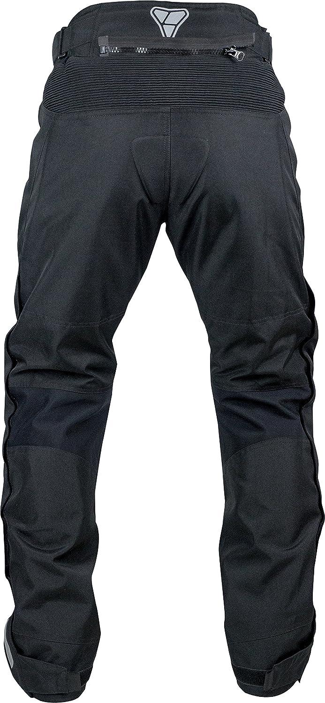 38-40, Tall Pilot Motosport Mens Dura Motorcycle Over Pants Black, XX-Large - Tall
