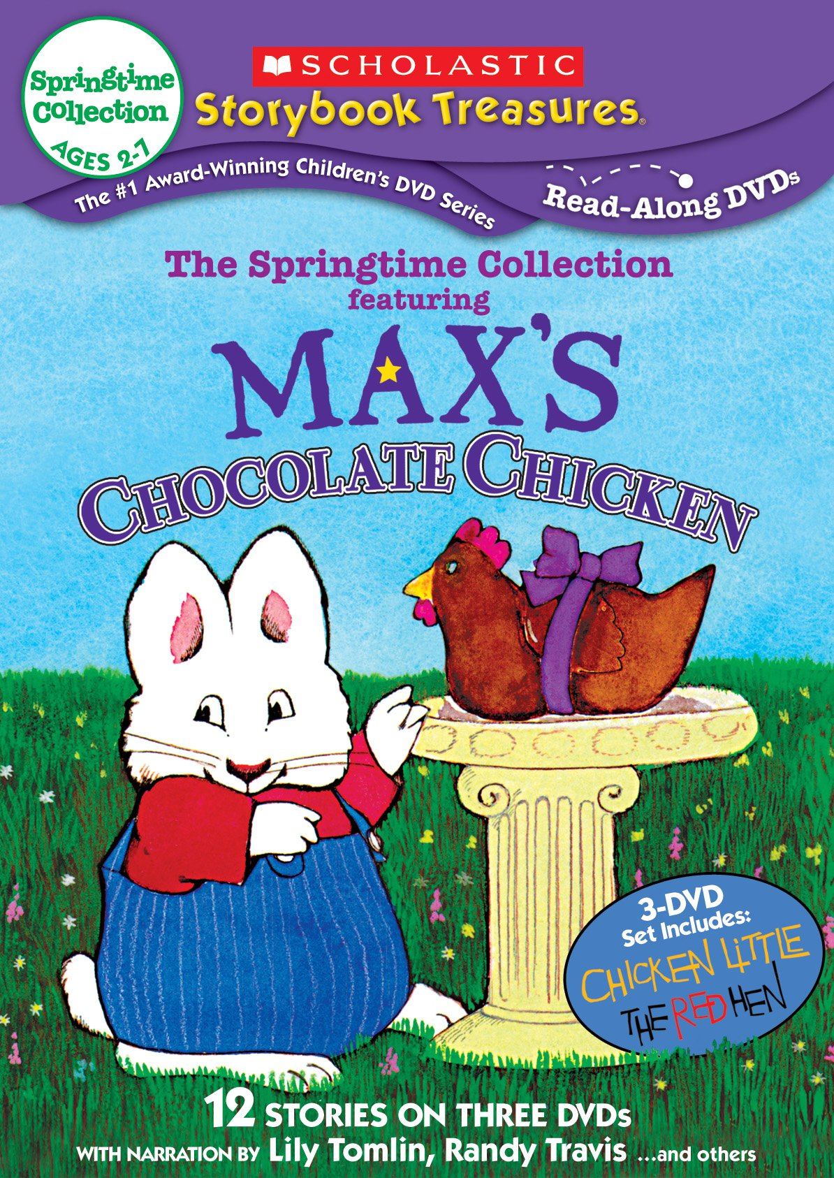 DVD : The Springtime Collection Featuring Max's Chocolate Chicken (3 Pack, 3PC)