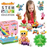 Click-A-Brick Rainbowland 112pc Building Blocks Set | Best STEM Toys for Boys & Girls Age 4 5 6 Year Old | Kids 3D Creative Puzzle Fun | Top Educational Learning Gift For Children Ages 4 - 12