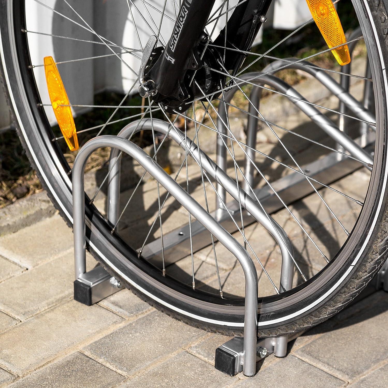 TecTake Aparcamiento para Bicicletas Soporte Bicicleta para Suelo y Pared Varios Modelos