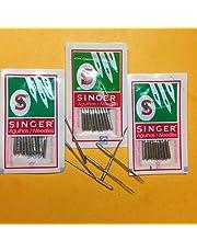 Agujas Singer para máquina de coser, tamaños 14 (90/14), 16