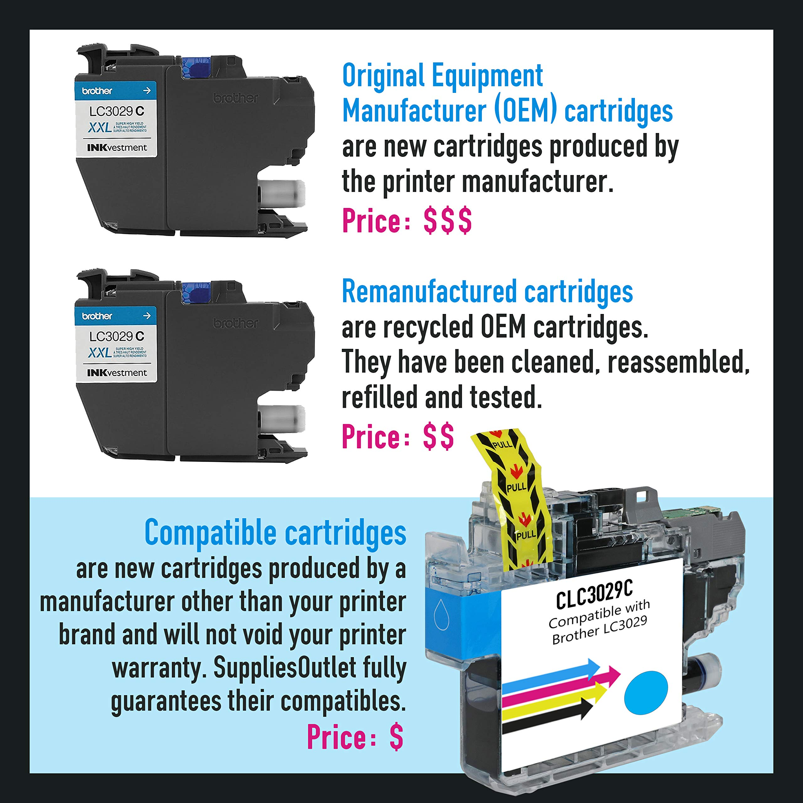 Black,2 Pack SuppliesOutlet Compatible Toner Cartridge Replacement for Canon GPR-35 2785B003AA GPR35