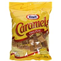 KRAFT Caramels Bag 269G x 8