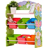 Fantasy Fields - Magic Garden Kids' Toy Organizer with 6 Storage Bins, Pink
