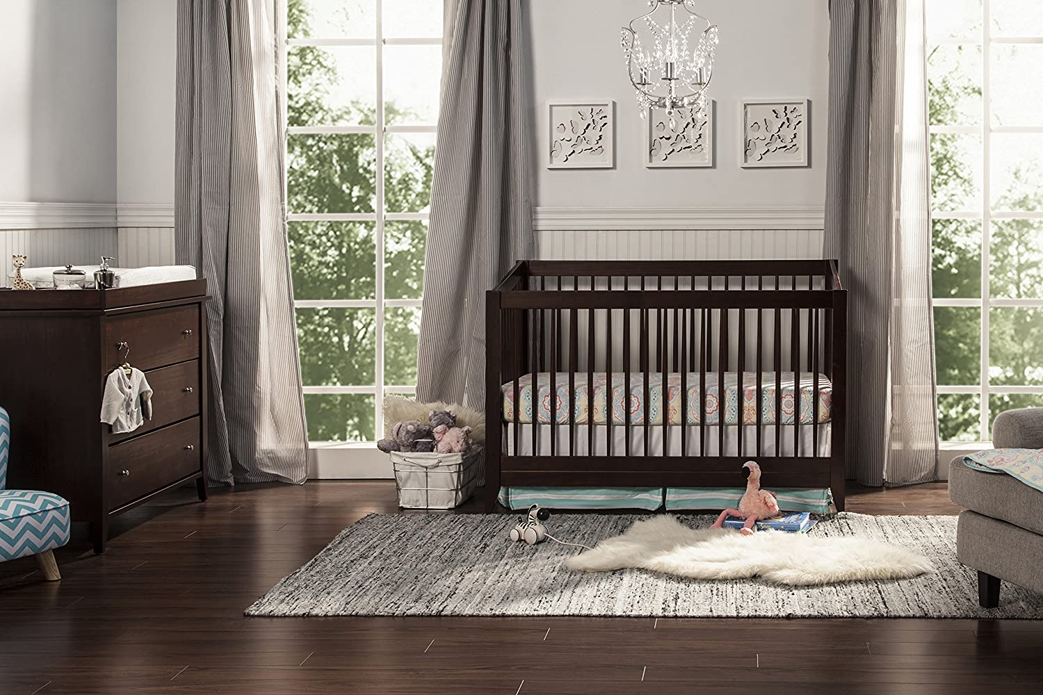 of toddler kalani crib cribs convertible instructions in photo rail davinci delightful with