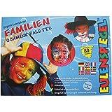 Eulenspiegel Familien Schminkpalette, 8 Farben