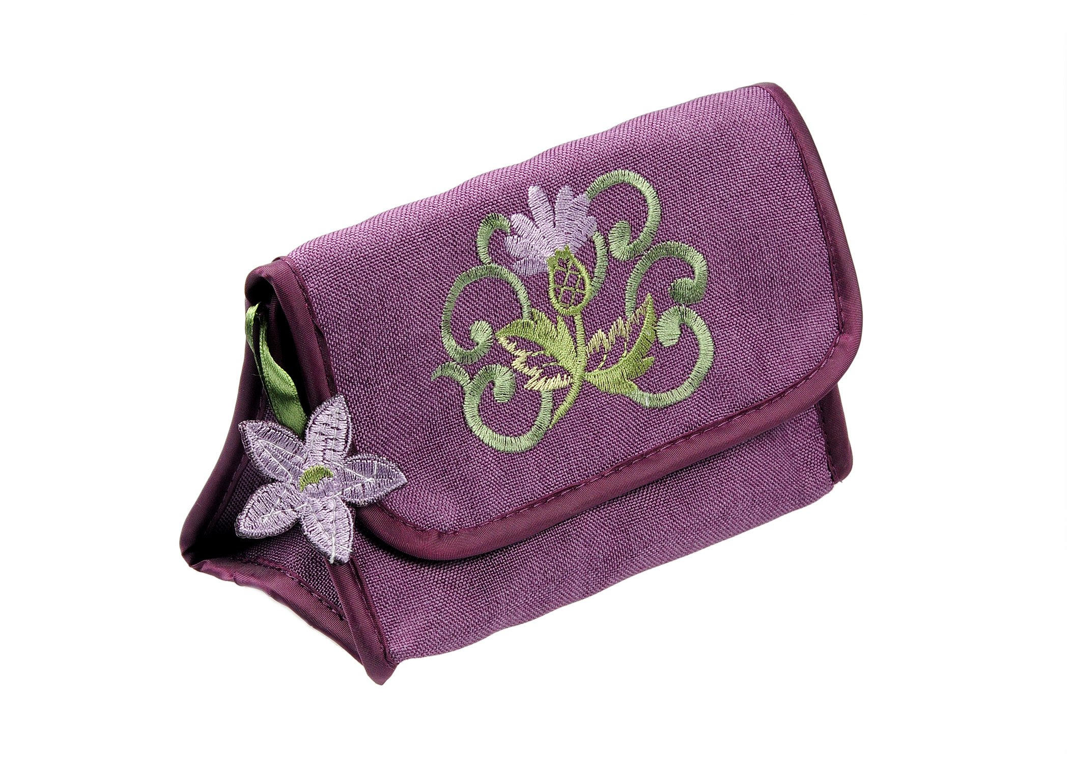 Cosmetic Bag in a Glencoe Thistle Design.
