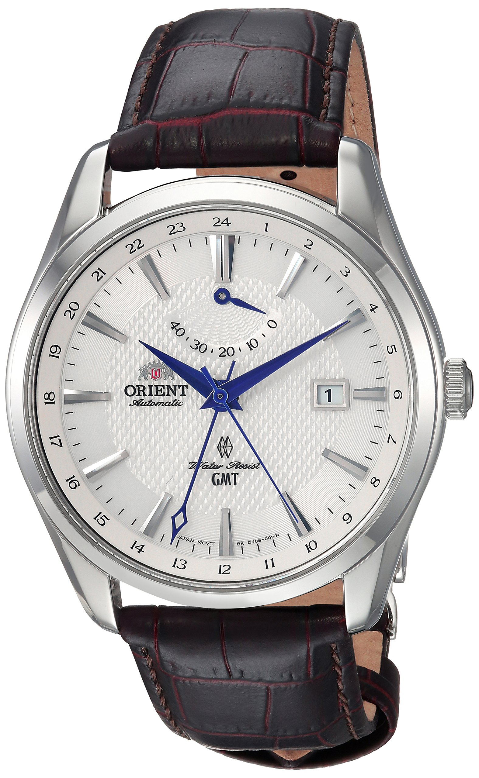 Orient men 39 s 39 polaris gmt 39 japanese automatic stainless for Orient mobel